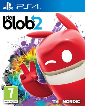 Immagine della copertina del gioco de Blob 2 per PlayStation 4