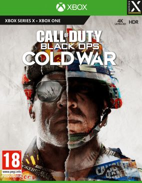 Copertina del gioco Call of Duty: Black Ops Cold War per Xbox Series X