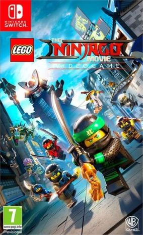 Immagine della copertina del gioco LEGO Ninjago Il Film: Video Game per Nintendo Switch