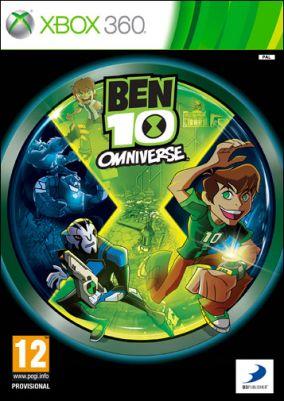 Copertina del gioco Ben 10: Omniverse per Xbox 360