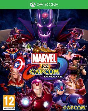 Immagine della copertina del gioco Marvel Vs. Capcom: Infinite per Xbox One