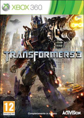 Copertina del gioco Transformers: Dark of the Moon per Xbox 360