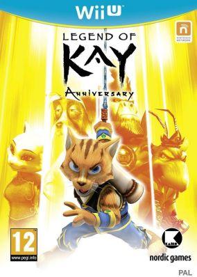 Copertina del gioco Legend Of Kay Anniversary per Nintendo Wii U