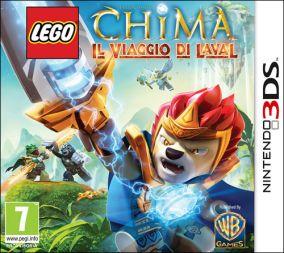 Immagine della copertina del gioco LEGO Legends of Chima: Il Viaggio di Laval per Nintendo 3DS