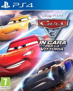 Immagine della copertina del gioco Cars 3: In gara per la vittoria per Playstation 4