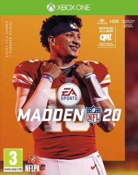Copertina del gioco Madden NFL 20 per Xbox One
