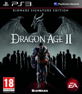 Copertina del gioco Dragon Age II per PlayStation 3