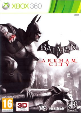 Copertina del gioco Batman: Arkham City per Xbox 360