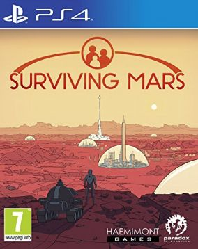 Copertina del gioco Surviving Mars per Playstation 4