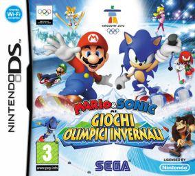 Immagine della copertina del gioco Mario & Sonic ai Giochi Olimpici Invernali per Nintendo DS