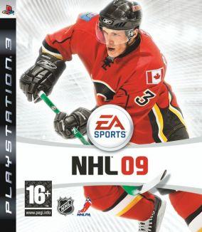 Immagine della copertina del gioco NHL 09 per PlayStation 3