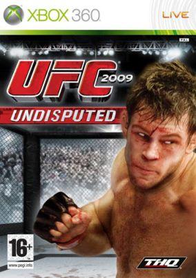 Copertina del gioco UFC 2009 Undisputed per Xbox 360