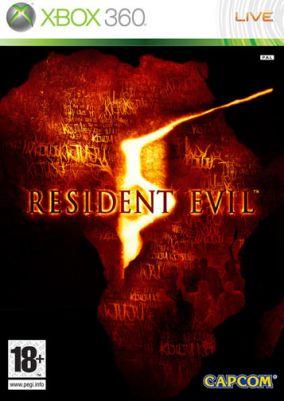 Copertina del gioco Resident Evil 5 per Xbox 360