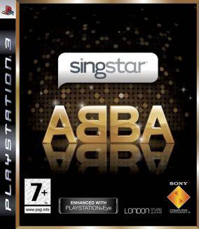 Immagine della copertina del gioco SingStar Abba per PlayStation 3