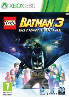 Immagine della copertina del gioco LEGO Batman 3: Gotham e Oltre per Xbox 360