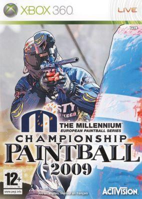 Copertina del gioco Millenium Series Championship Paintball 2009 per Xbox 360