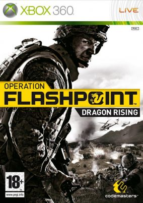 Copertina del gioco Operation Flashpoint: Dragon Rising per Xbox 360