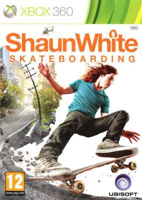 Copertina del gioco Shaun White Skateboarding per Xbox 360
