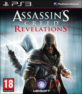 Copertina del gioco Assassin's Creed Revelations per PlayStation 3