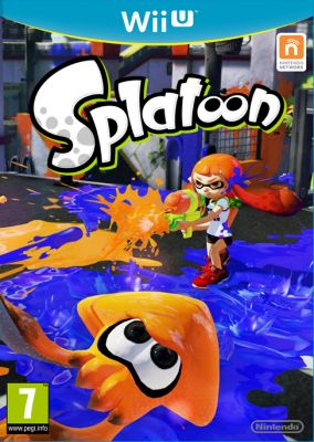 Copertina del gioco Splatoon per Nintendo Wii U
