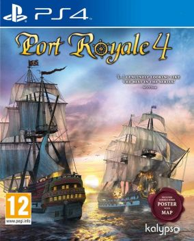 Copertina del gioco Port Royale 4 per PlayStation 4