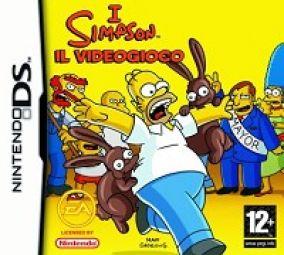 Immagine della copertina del gioco I Simpsons per Nintendo DS