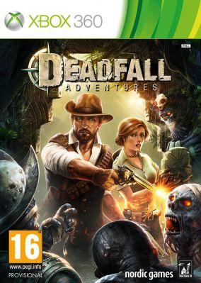 Copertina del gioco Deadfall Adventures per Xbox 360