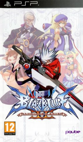 Copertina del gioco BlazBlue: Continuum Shift 2 per Playstation PSP