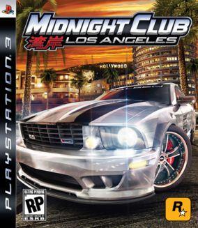 Copertina del gioco Midnight Club: Los Angeles per PlayStation 3