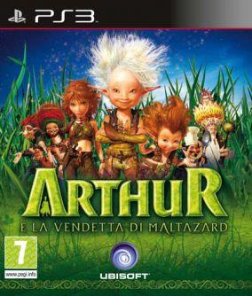 Copertina del gioco Arthur - La vendetta di Maltazard per PlayStation 3