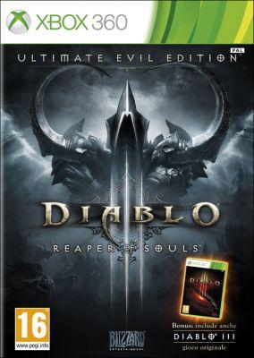 Copertina del gioco Diablo III: Ultimate Evil Edition per Xbox 360