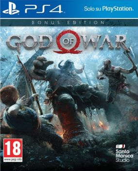 Immagine della copertina del gioco God of War per PlayStation 4