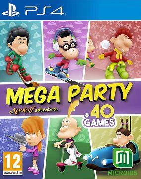 Copertina del gioco Mega Party a Tootuff adventure per PlayStation 4