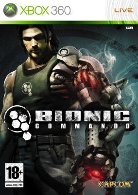 Copertina del gioco Bionic Commando per Xbox 360