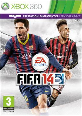 Immagine della copertina del gioco FIFA 14 per Xbox 360