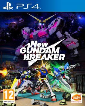 Immagine della copertina del gioco New Gundam Breaker per Playstation 4