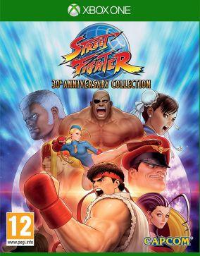 Copertina del gioco Street Fighter 30th Anniversary Collection per Xbox One