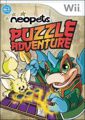 Immagine della copertina del gioco Neopets: Puzzle Adventure per Nintendo Wii