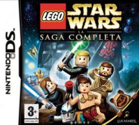 Immagine della copertina del gioco LEGO Star Wars: La Saga Completa per Nintendo DS