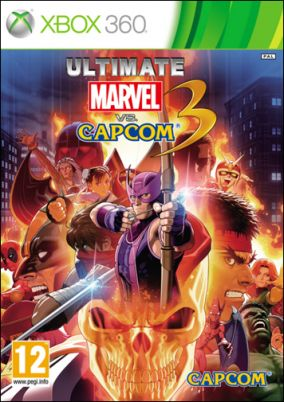 Copertina del gioco Ultimate Marvel vs. Capcom 3 per Xbox 360