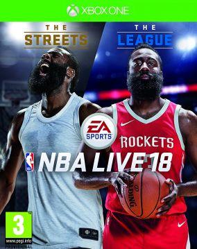 Copertina del gioco NBA Live 18 per Xbox One