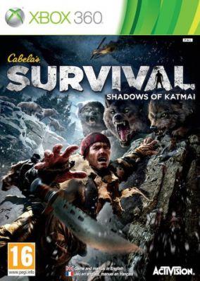 Copertina del gioco Cabela's Survival: Shadows of Katmai per Xbox 360
