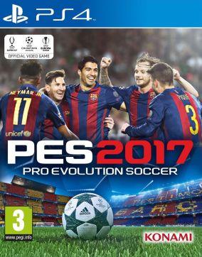 Immagine della copertina del gioco Pro Evolution Soccer 2017 per Playstation 4