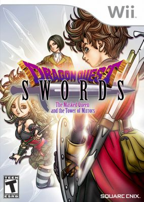 Immagine della copertina del gioco Dragon Quest Swords: La Regina Mascherata e la Torre degli Specchi per Nintendo Wii