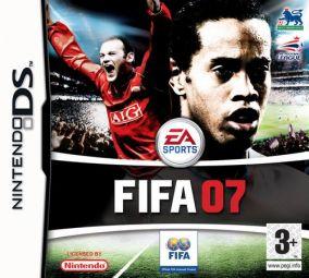 Immagine della copertina del gioco FIFA 07 per Nintendo DS