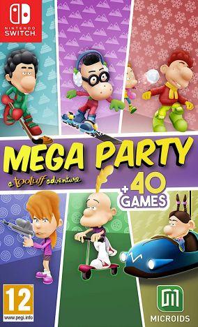 Immagine della copertina del gioco Mega Party a Tootuff adventure per Nintendo Switch