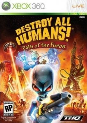Copertina del gioco Destroy All Humans! path of the furon per Xbox 360
