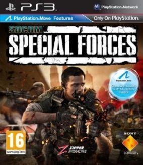 Copertina del gioco SOCOM: Special Forces per PlayStation 3