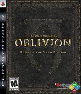 Copertina del gioco The Elder Scrolls IV: Oblivion Game Of The Year Edition per PlayStation 3