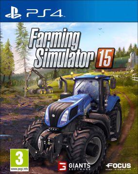 Immagine della copertina del gioco Farming Simulator 15 per PlayStation 4